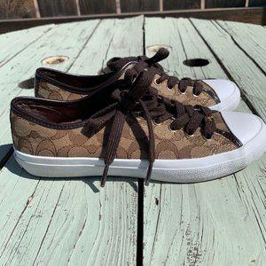 Coach NY Empire Fashion Sneakers Size 6B